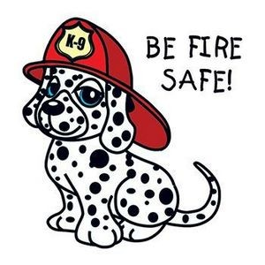 Be Fire Safe Temporary Tattoo