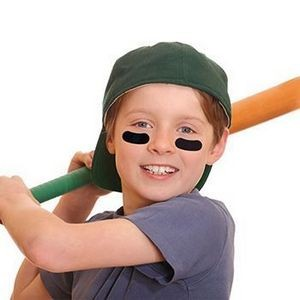Sports Eye Black Temporary Tattoo