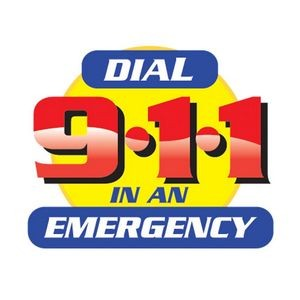 Dial 9-1-1 In An Emergency Temporary Tattoos